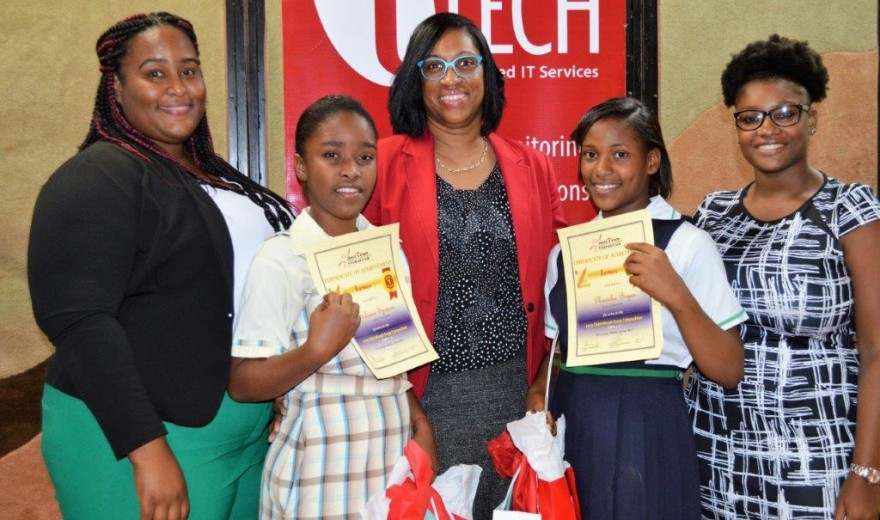 tTech, Grace And Staff Award Top Essay Writers!